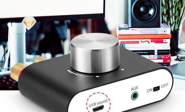 Wzmacniacz stereo M01G