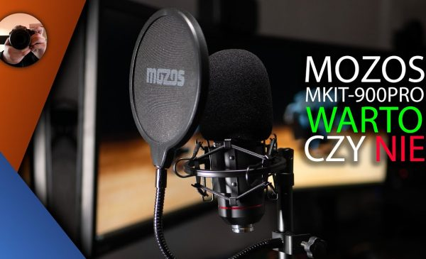 Mozos mkit-900pro recenzja – mikrofon dla streamera youtubera